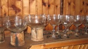 glassmusic in storehouse