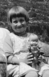 Ingrid as child